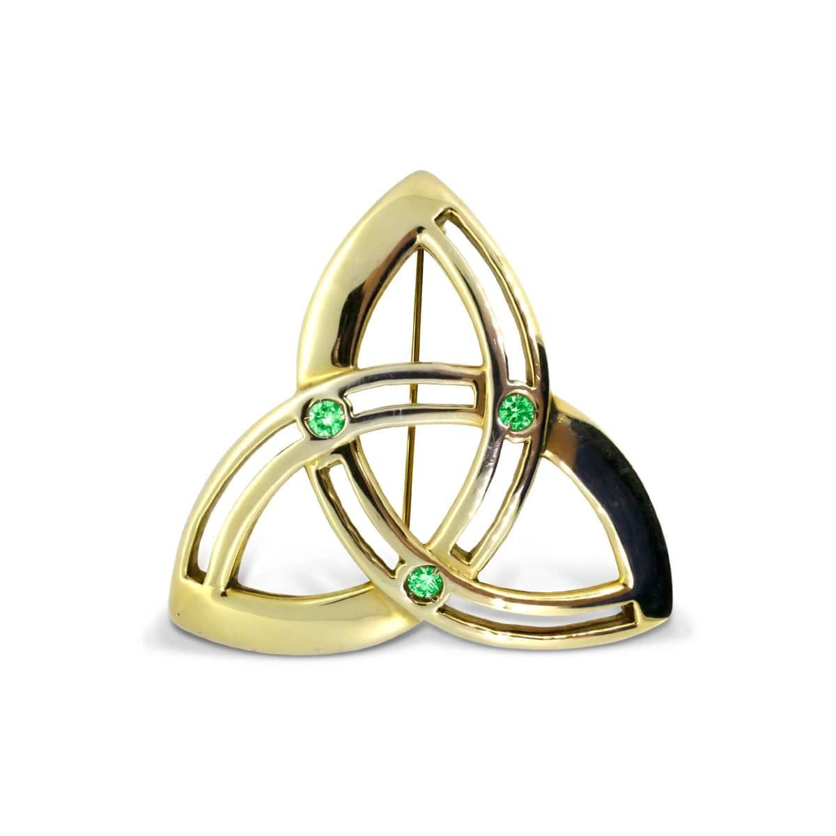 Trinity Knot Celtic Brooch