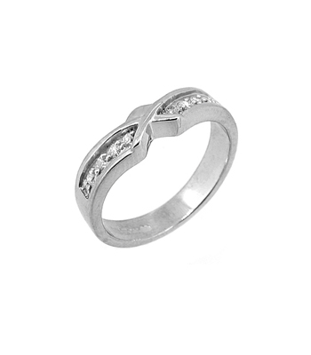 Diamond Claddagh Wedding Ring