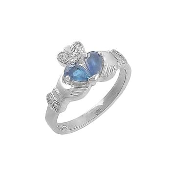 Split Heart Sapphire