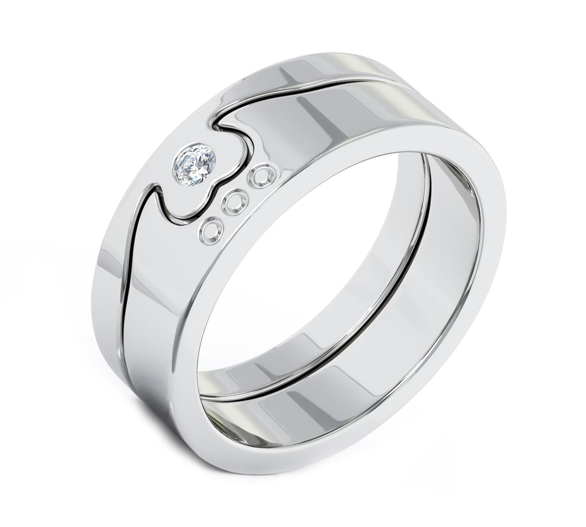 2 Part Claddagh Ring